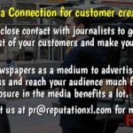 Media Connection for customer creation